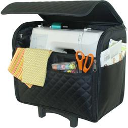 Rolling Craft Tote Sewing Machine Storage Bags Cases Luggage