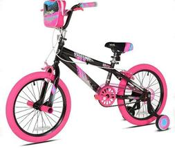 Girls Kent Sparkles Bike 18 Inches Rear Foot Brake Handbrake