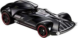 Hot Wheels Star Wars Die Cast Character Cars Darth Vader DXP