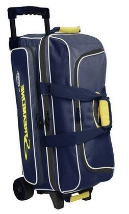 Storm Streamline 3 Ball Triple Roller Bowling Bag Navy Grey