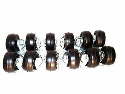 """12 pc 2"""" Swivel Caster Wheel  Top Plate with Ball Bearings H"""