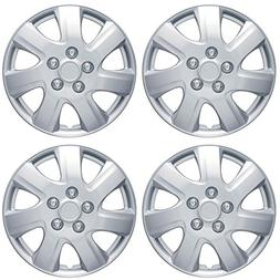 """BDK Toyota Camry 2006-2014 Style Hubcap Wheel Cover, 16"""" Sil"""