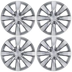 "BDK Toyota Corolla Style Hubcaps 16"" Wheel Covers - 2014 Mod"