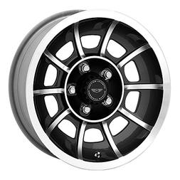 American Racing VN47 Vector Satin Black Wheel with Machined