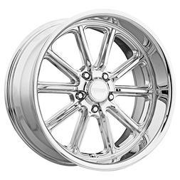 "American Racing VN507 Rodder 17x7 5x4.75"" +0mm Chrome Wheel"