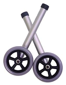 Essential Medical Supply W1245 Universal Fixed Wheels, 5 Inc