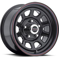 Wheel Pros 7675765 AR767 Series D Window Wheel Size: 15 x 7