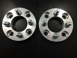 2 Pieces 50mm  Wheel Spacers Adapers 4x108 Non-hubcentric 73