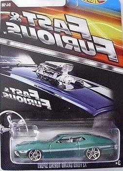 HOT WHEELS 2015 FAST AND FURIOUS RELEASE EXCLUSIVE '69 DODGE