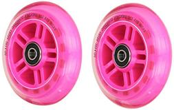 Razor Set of 2 Wheels with Bearings - Pink