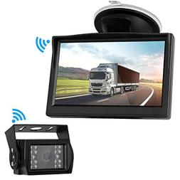 Digital Wireless Backup Camera High-Speed Observation System